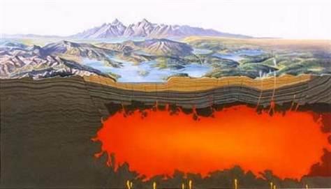 Vulcão Yellowstone passa para classificação de Alto Risco