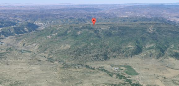 Archulet Mesa, no estado do Novo México - EUA.  Seria esta a localização da legendária base secreta de Dulce?