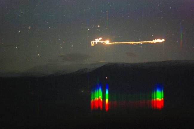 Imagens autênticas de OVNI são filmadas por um professor universitário e seus alunos 2