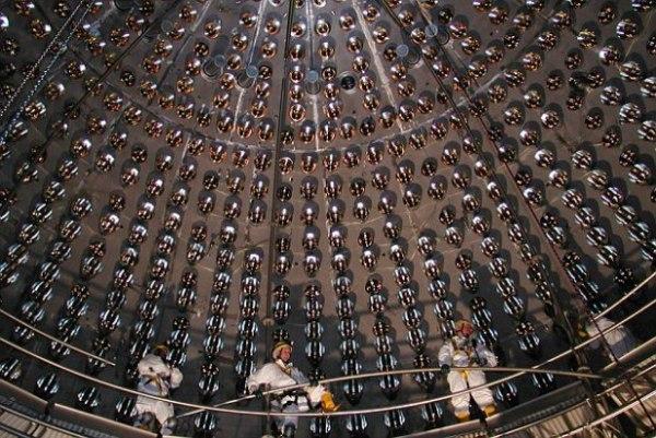 Cientistas do Laboratório Nacional Gran Sasso, na Itália, que está localizado a 1,6 km abaixo das Montanhas Apennine, usaram o detector de neutrinos Borexino.