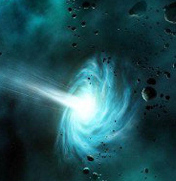 Ilustração de um portal, de acordo com a NASA.