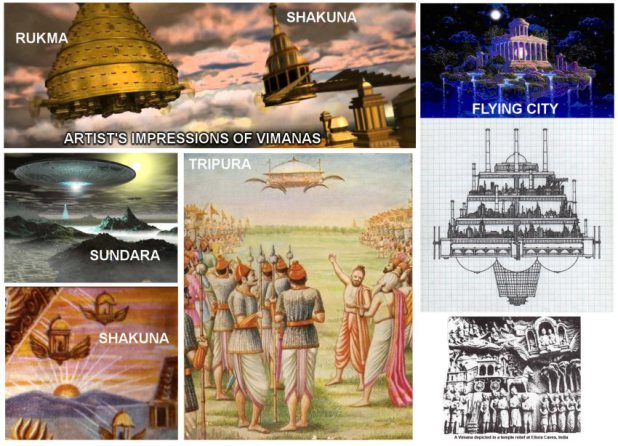 OVNIs visitaram o nosso planeta há 6.000, de acordo com textos da antiga Índia