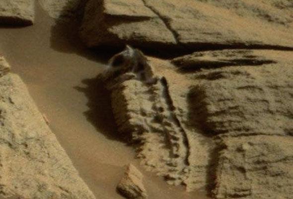 Fóssil em Marte