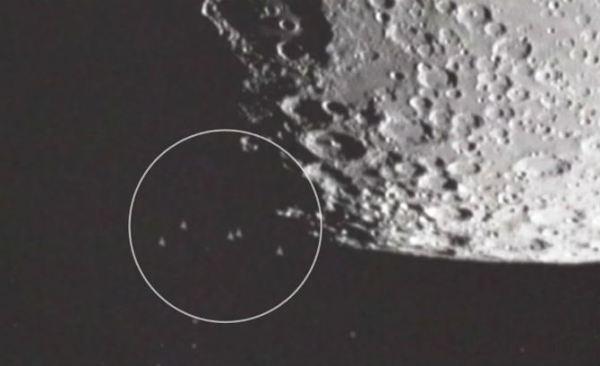 ovnis na lua
