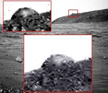 Nova estrutura em formato de cúpula é encontrada em Marte 1