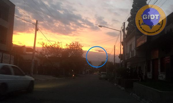 luzes em Tucuman