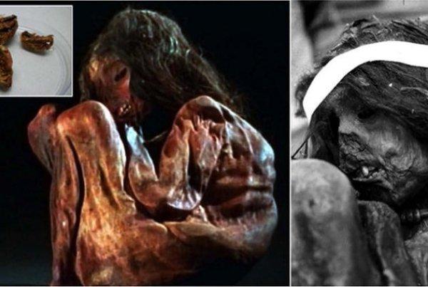 múmia de criança inca