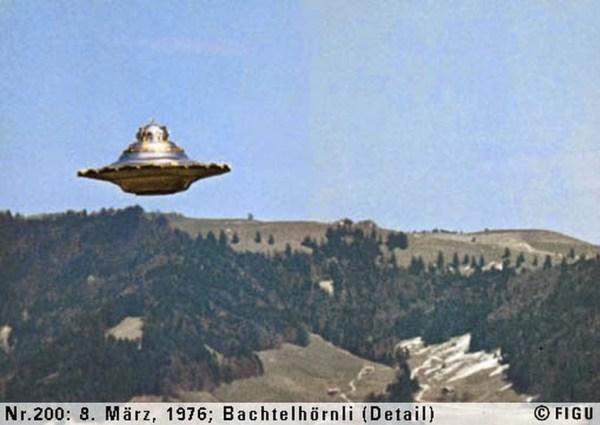 OVNI alegadamente fotografado por Billy Meier