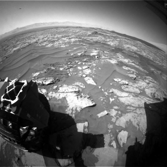 OVNI em Marte, dezembro de 2015