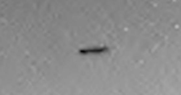 OVNI em Marte, imagem ampliada