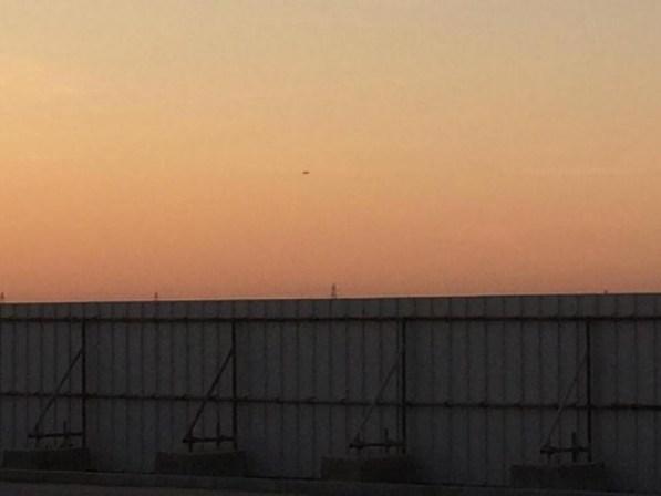 OVNI na véspera do Ano Novo em Dubai