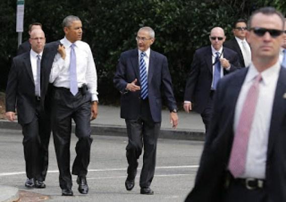 Obama e Podesta