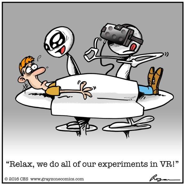 ET e realidade virtual