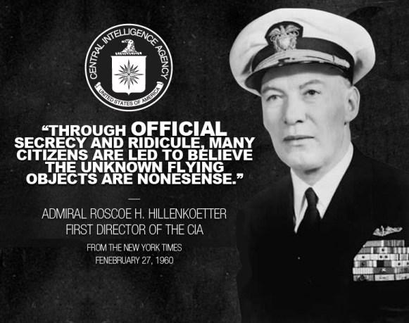 Almirante Roscoe H. Hillenkoetter