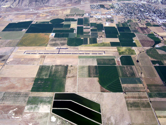 Aeroporto Municipal de Nephi.(Credito: Arizona Soaring Association/http://www.asa-soaring.org/)