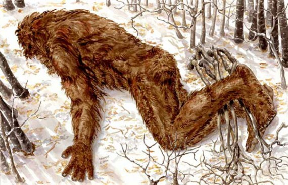 Bigfoot morto