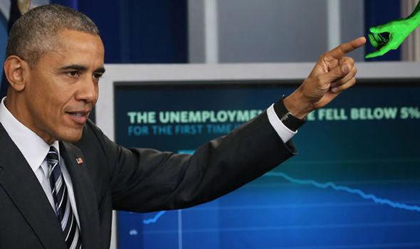 Obama e os ETs