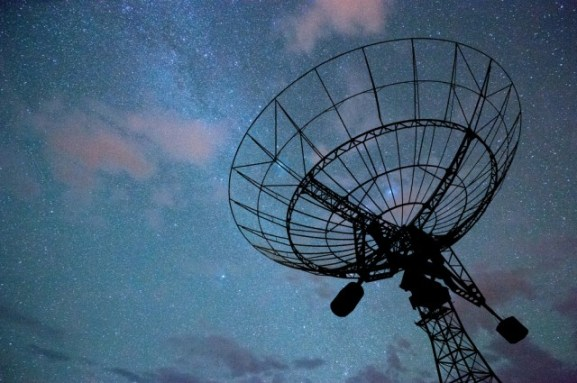 rádio telescópio