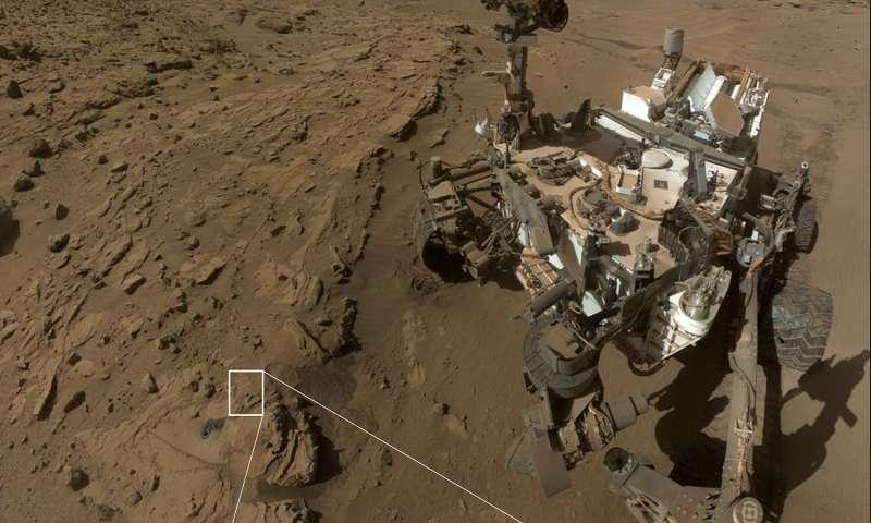 Jipe-sonda descobre que Marte pode estar coberto de matéria orgânica 1