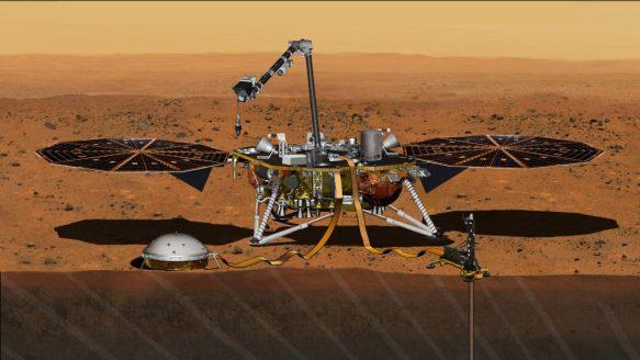 A NASA marcou da data para a nova oportunidade de lançamento, começando em 5 de maio de 2018. Credito: NASA/JPL-Caltech