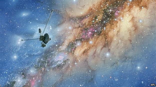 nave que está a 21 bilhões de quilômetros da Terra