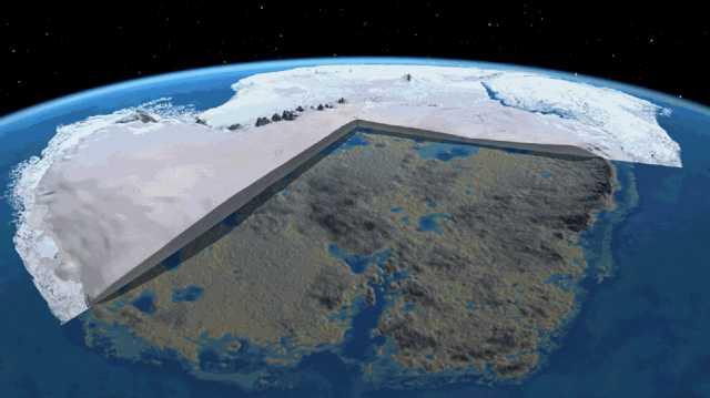 Possíveis pirâmides e construções da antiguidade podem estar ocultadas pelo espesso gelo na Antártica
