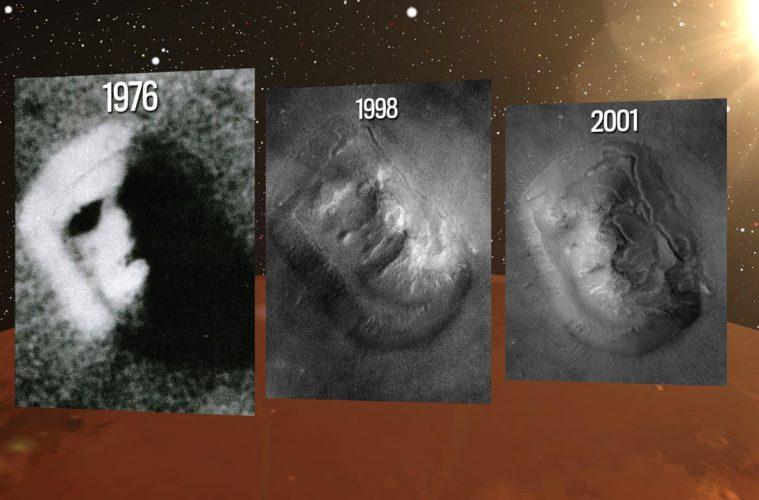 A Face em Marte, encontrada em 1976, é real, de acordo com 3 ex-cientistas da NASA 1