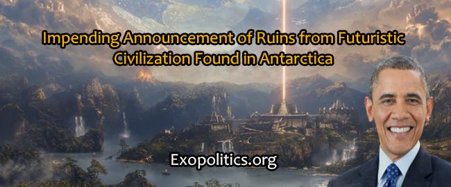 Anúncio iminente de ruínas de civilização futurística encontradas na Antártica 1