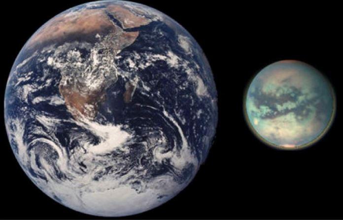 colonização espacial em Titã