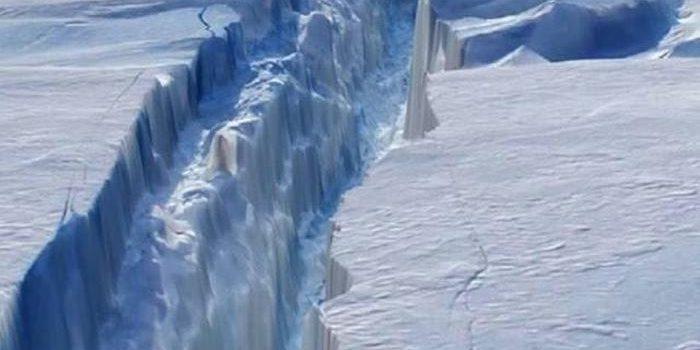 rachadura antártica
