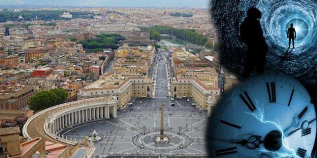 Vaticano máquina do tempo
