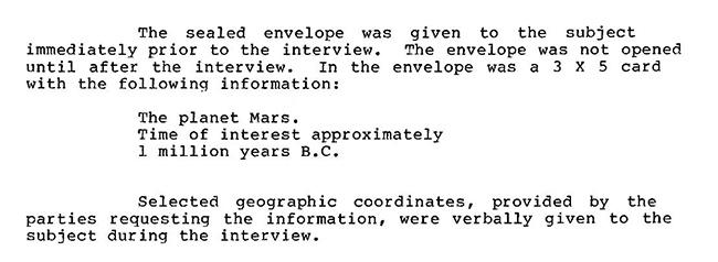 CIA usou visualização remota para saber mais sobre pirâmides de Marte e seus habitantes 2