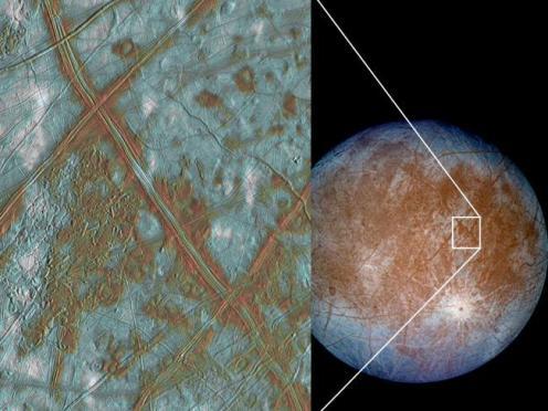 vida na lua Europa