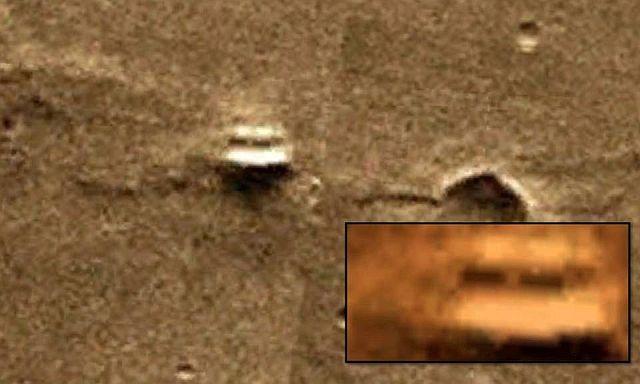 Objetos similares são encontrados em Marte e na Antártica 2