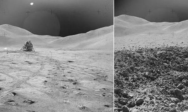 pouso na Lua foi uma farsa
