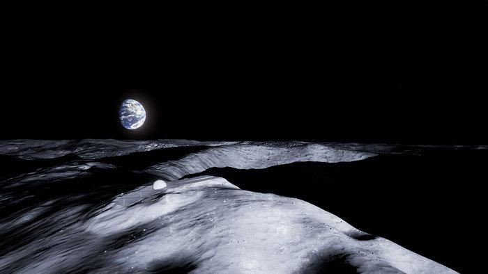 ESA pretende construir templo na Lua 1