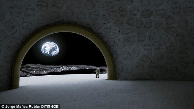 templo na Lua