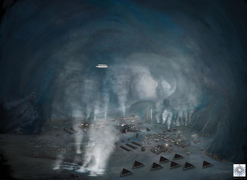 Teriam os marcianos se refugiado na Antártica há mais de um milhão de anos? 2