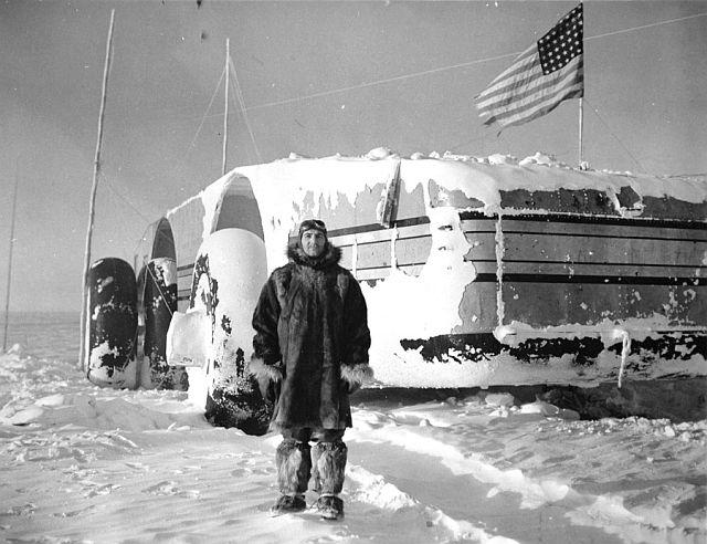 cruzador da neve da Antártica