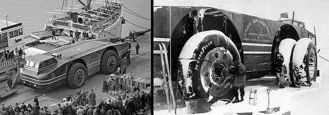 Mistério: O que aconteceu com o enorme 'cruzador da neve' da Antártica na expedição do Almirante Byrd? 2