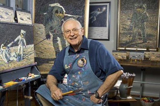 Alan Bean - quarto homem a pisar na Lua