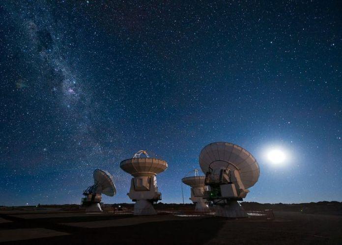 comunicar com a inteligência extraterrestre através da comunicação quântica