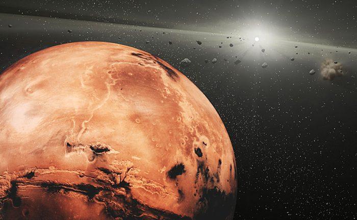 Destroços de um misterioso planeta estão orbitando Marte 1