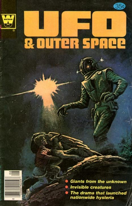 Capas fantásticas de revistas sobre OVNIs nas décadas de 60 e 70 14