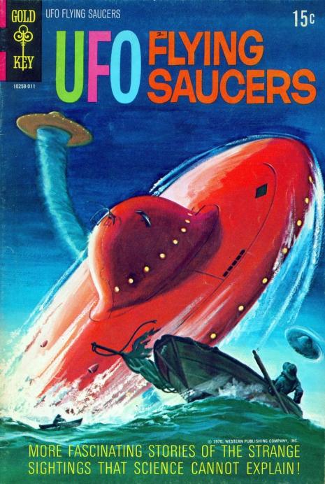 Capas fantásticas de revistas sobre OVNIs nas décadas de 60 e 70 7