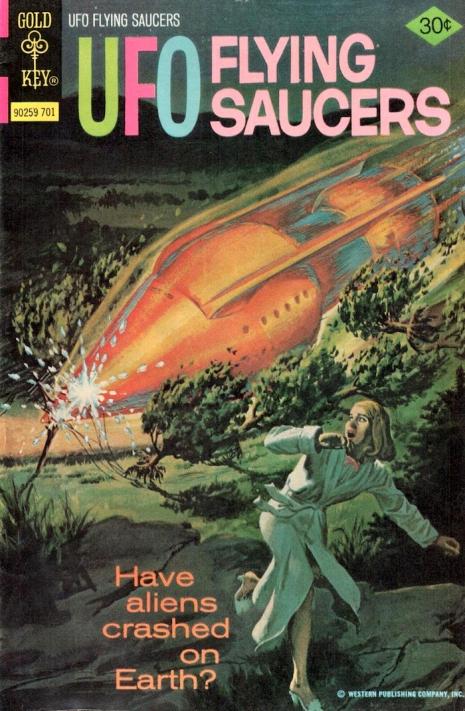Capas fantásticas de revistas sobre OVNIs nas décadas de 60 e 70 9