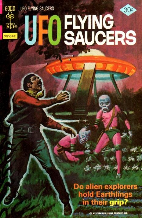 Capas fantásticas de revistas sobre OVNIs nas décadas de 60 e 70 10
