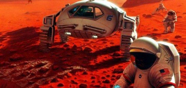 Impossível para NASA colocar humanos em Marte até 2033