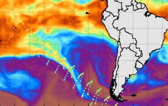 Anomalia é detectada vindo da Antártica
