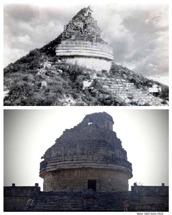 Engenharia avançada é encontrada em observatório maia 2